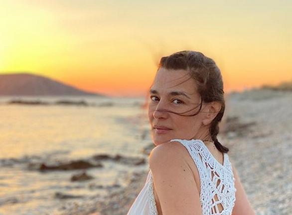 Η Μαρία Ναυπλιώτου απολαμβάνει μια ξέγνοιαστη καλοκαιρινή περίοδο